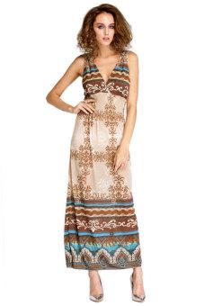 Maxi Dress (Apricot)