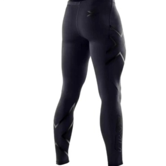 Men 2Xu Professional Pants Trousers Compression Speed DryNylonstretch Fitness Pants(Black) - intl