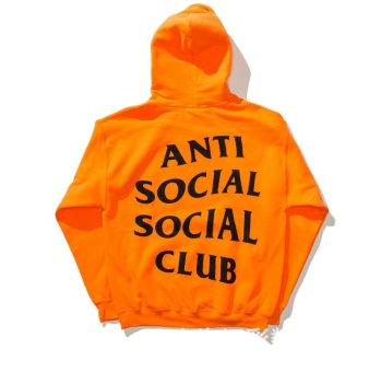 Men 's Cotton Hooded Sweater Anti Social Social Club - intl