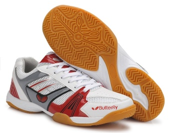 Men and Women's Professional Badminton Shoes Couples Table Tennis Sneakers Plus Size 36-44 - intl