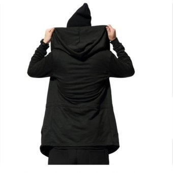 Men cardigan wizard Hoodies cloak cape coat - intl - 4