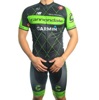 Men Cycling Jersey and Non Bib Shorts Set Quick Dry Gel Padded Clothing-FNM (CN2)