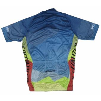 Men Cycling Jersey and Non Bib Shorts Set Quick Dry Gel Padded Clothing-FNM (Spec15) - 5
