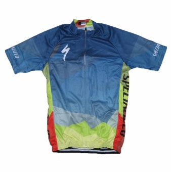 Men Cycling Jersey and Non Bib Shorts Set Quick Dry Gel Padded Clothing-FNM (Spec15) - 4