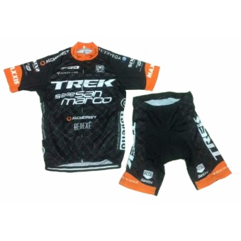 Men Cycling Jersey and Non Bib Shorts Set Quick Dry Gel PaddedClothing-FNM (SNTNTRK4) - 2