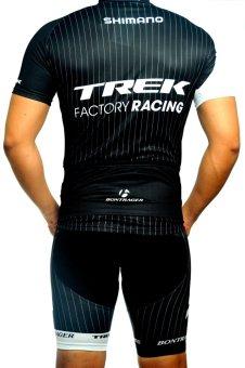 Men Cycling Jersey and Non Bib Shorts Set Quick Dry Gel PaddedClothing-FNM (TRK1) - 2