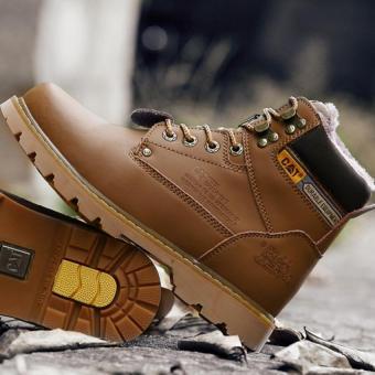 Men fashion boots warm boots - 3