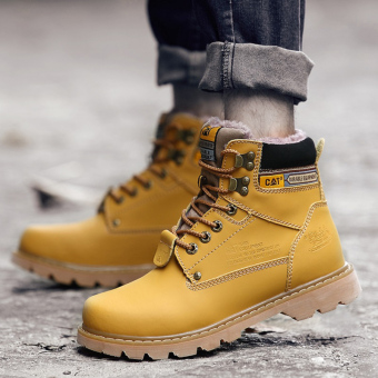 Men fashion boots winter snow boots - 5