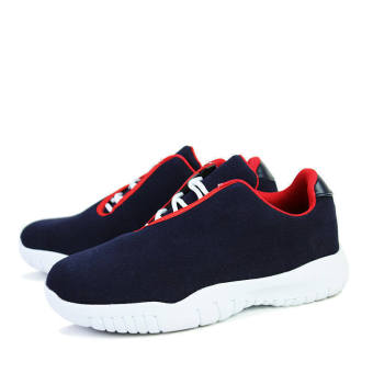 Men Fashion Casual Low Cut Sneakers Blue - picture 2