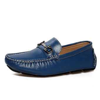 Men Fashion Loafers -Blue