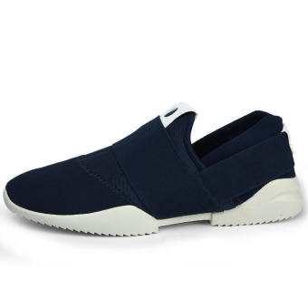 Men Fashion Low Cut Sneakers-Blue - picture 2