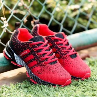 Men Fashion Sneakers Casual Running Sports Shoes(red) - intl - 2