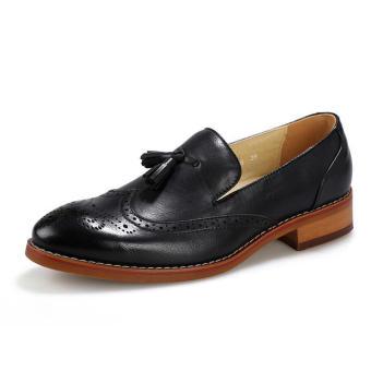 Men Fashion Tassel Loafers -Black - picture 2