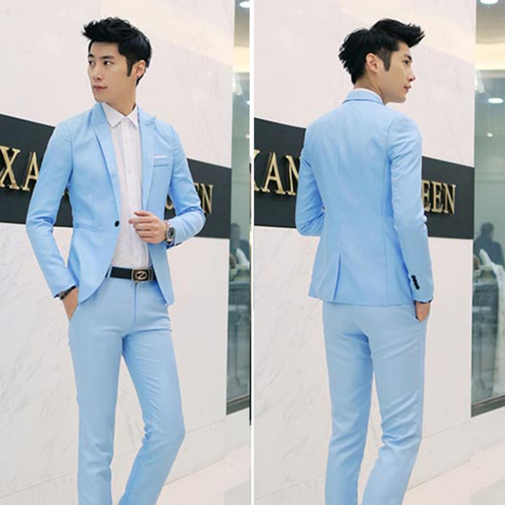 Philippines | Men Formal Wedding Bridegroom Suit One Button Slim Fit ...