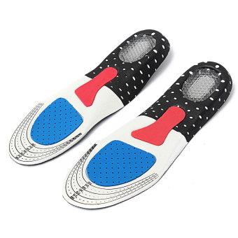 Men Gel Orthotic Sport Running Insoles Insert Shoe Pad Arch Support Cushion - Intl