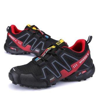 Men Hiking Shoes Hot Sale Waterproof Hiking Shoes Genuine Leather Outdoor Trekking Shoes - intl - 4