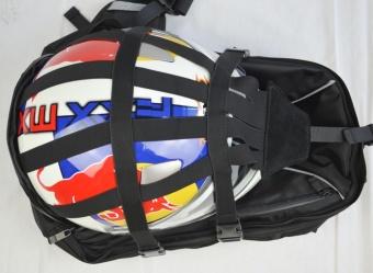 Men Motorcycle Waterproof backpack shoulder Bag riding Bike cyclingHelmet Bag - intl - 5