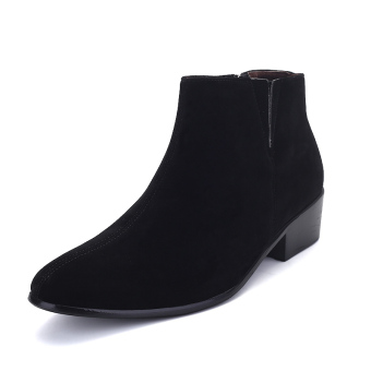 Men pointed british fashion formal ankle boots Price Philippines