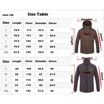 Men Two-pieces Outdoor Waterproof Thermal Hiking Camping Skiing Jackets(Green) - intl - 4