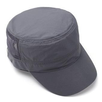 Men Women Army Plain Hat Sunshade Military Mesh Cadet Outdoors Baseball Flat Cap - 4