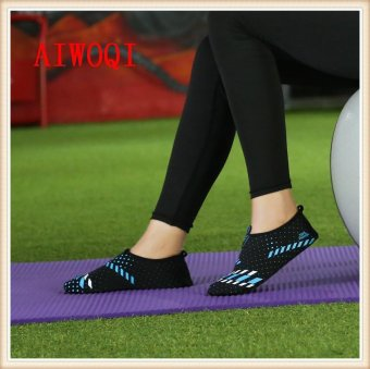 Men Women Swimming Yoga Beach Breath shoes Sandals for Summercasual shoes Barefoot Flexible Water Skin Shoes Aqua Socks forBeach Swim Surf Yoga Exercise Fitness shoes AIWOQI - intl - 5