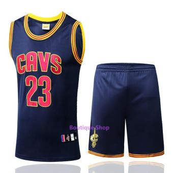 Men's #23 LeBron James Comfortable NBA Basketball Jersey Suits - intl
