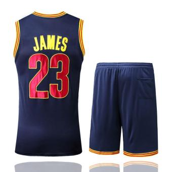 Men's #23 LeBron James Comfortable NBA Basketball Jersey Suits - intl - 2