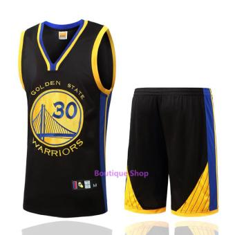 Men's #30 Stephen Curry Comfortable NBA Basketball Jersey Suits - intl