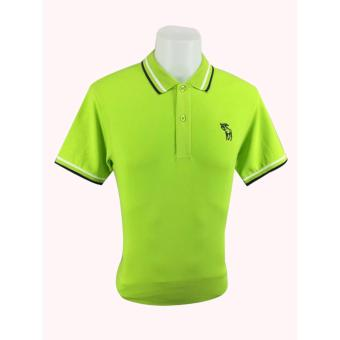 Men's ABER #A001 Polo Shirt (Apple Green) Price Philippines
