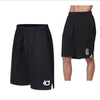 Men's Active Performance Basketball Black Shorts with Pocket (the Logo of Kobe) - intl - 2
