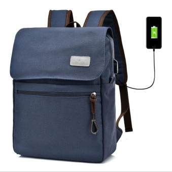 Men's Backpack Bag Brand Laptop Notebook for Men Waterproof Back Pack school backpack bag (blue) - intl