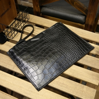 Men's clutch bag envelope bag
