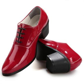 Men's fashion high-heeled Formal shoes