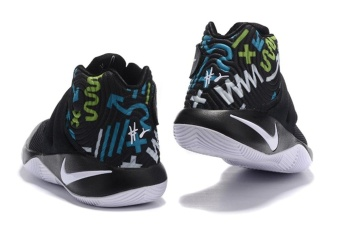 Men's Kyrie Irving Basketball Shoes Kyrie 2 Basketball Shoe Black/White/Print - intl
