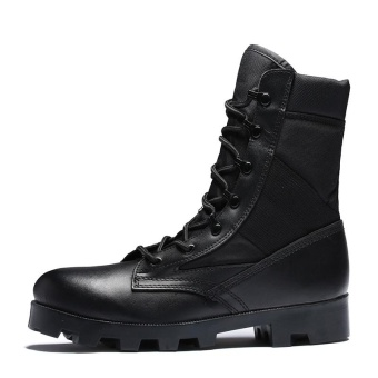 Men's Outdoor Boots,Lightweight Lace up Combat Boots Military Tactical Outdoor Men Boots for Hiking outdoor sport - intl