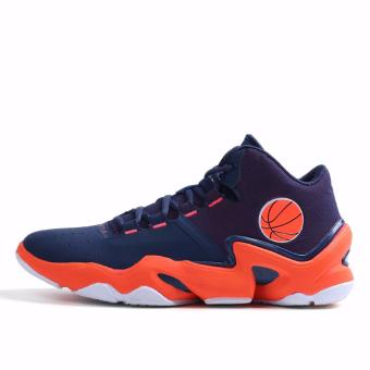 Men's Outdoors Sports Shoes Student Basketball Shoes for Mens Orange 8019 - intl