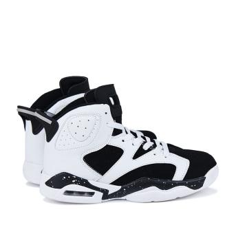 Men's Sport Fashion Basketball Shoes (black&white)(Export) - 3
