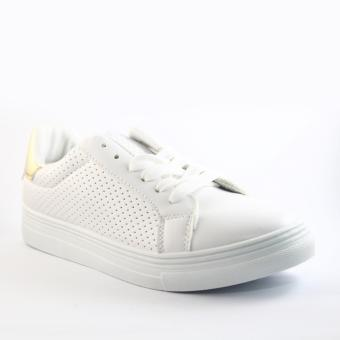 Mendrez Marie Sneakers (White/Gold)