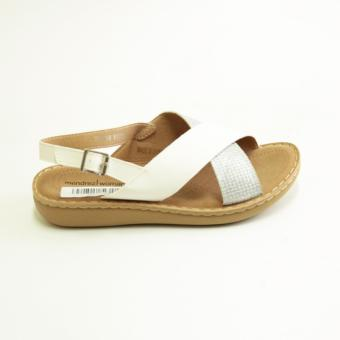Mendrez Vhale Sandals (White)
