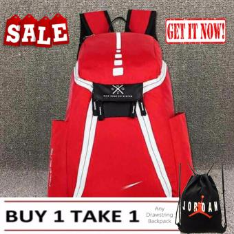 Mens Backpack Nike Elite Red Sports Gym School Mens Womens Bag