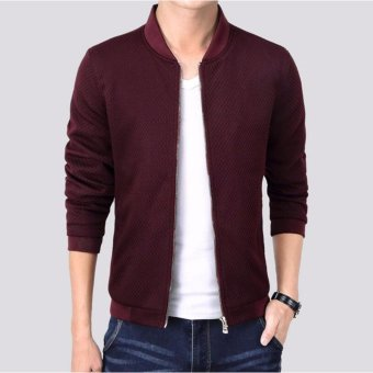 Men's Baseball Wear Casual Bomber Jackets - intl
