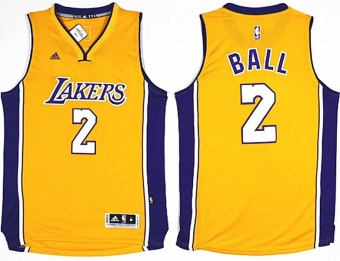 Men's Basketball Jersey Lonzo Ball 2017 NBA Draft #1 Los AngelesLakers NO.2 light Breathable Chase Fashion Alternate Chase FashionTop medium Gold - intl Price Philippines