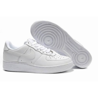 Men's Basketball Shoes For Air-Force+1 White Low - intl