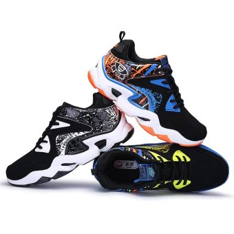 Mens Basketball Sneakers High Top Basketball Shoes For Men Shoes Training Men Leather Sport Shoes Stephen Curry (blue) - intl - 5