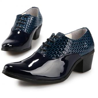Men's British fashion high-heeled shoes Formal Shoes Price Philippines