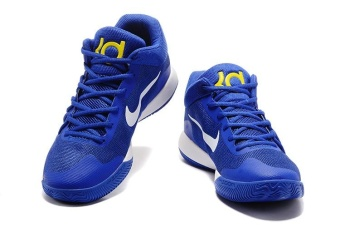 Men's KD TREY 5 V EP Basketball Shoes Blue / white / yellow - intl