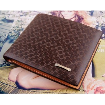 Mens Leather Wallets Male Purse Fashion Card Holders For Male - intl - 3