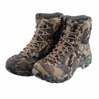 Men's RSC Camouflage Combat Boots,Lace up Desert Boots MilitaryTactical Outdoor Men Boots - intl