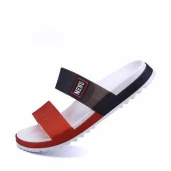 Mens Sandals Summer Casual Beach Shoes Fashion Slippers - intl