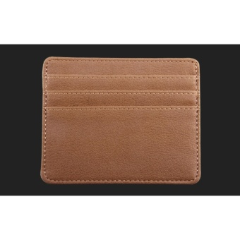 Mens Slim RFID Blocking Front Pocket Card Wallet Holder Sleeve -intl